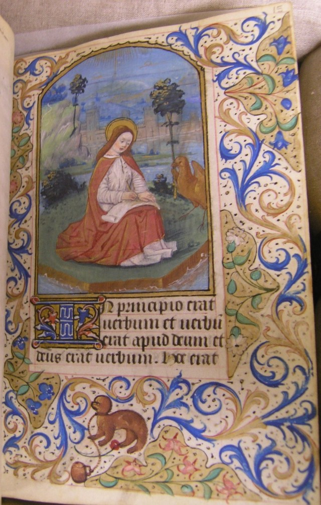 Connolly Book of Hours, John J. Burns Library, MS1986-097