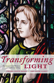 If you are interested in the history of Boston College's stained glass windows, check out Transforming Light by Virginia Chieffo Raguin, Linden Lane Press, 2009.