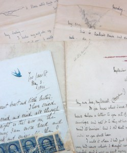 Letters from the Elodie Belloc Correspondence Collection, John J. Burns Library, Boston College.
