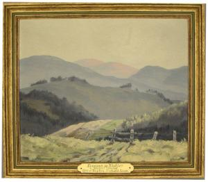 Evening in Wicklow by Mabel Young