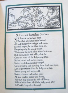Page 17 from The Rhymed Life of St. Patrick, Burns Library Call # PR 470 .H3 R59x Irish Oversize.