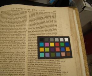 Ioannis Lorini Societatis Iesu Commentarii in Leuiticum, published in Antwerp, 1620. (Burns British Catholic Authors Room 02-26974 Jesuitica Oversize)
