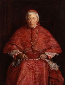 John Henry Newman, by Sir John Everett Millais, National Portrait Gallery, London.  John Henry Newman C.O. (21 February 1801 -11 August 1890), also referred to as Cardinal Newman and Blessed John Henry Newman, was an important figure in the religious history of England in the 19th century.