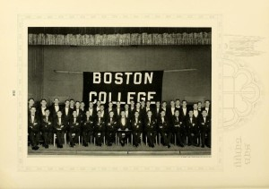 Glee Club group photo, page 316, 1927 Sub Turri.