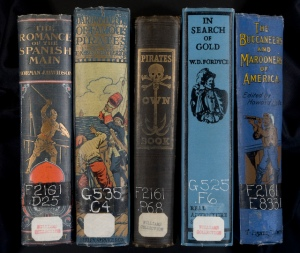 A selection of books from the Williams Collection of the John J. Burns Library, Boston College.