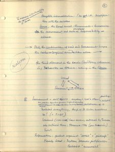 Systematic Theology Lecture Notes (1981-1982), Box 1, Folder 4, Frans Jozef van Beeck Papers, BC2007-14, John J. Burns Library, Boston College.