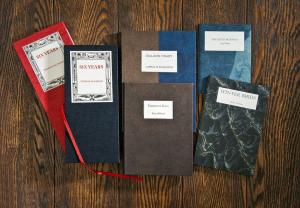 A selection of Traffic Street Press books.