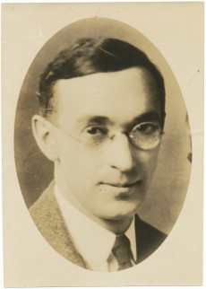 Portrait of Howard B. Gill, 1923.  Howard Belding Gill papers, MS.1995.018.