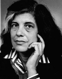 Susan Sontag (1933 - 2004) was an American writer and filmmaker, literary icon, and political activist.