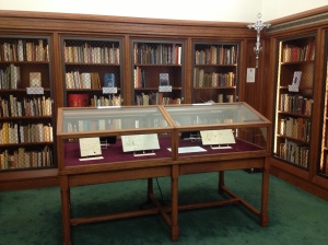 A selection of the Prendergast Letters is now on display in the Burns Library's Fine Print Room through March 27th, 2013.