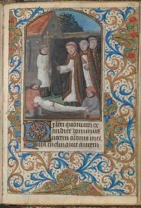 Folio 106 recto, Office of the Dead, Connolly Book of Hours, MS.1986.097, John J. Burns Library, Boston College.