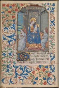 Folio 143 verso, Connolly Book of Hours, MS.1986.097, John J. Burns Library, Boston College.