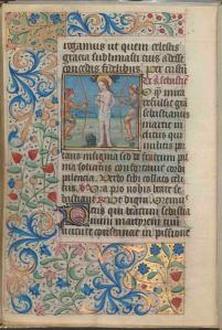 Folio 153 verso, Connolly Book of Hours, MS.1986.097, John J. Burns Library, Boston College.