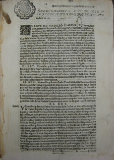 The earliest printed document in the volume, dating from 1645.