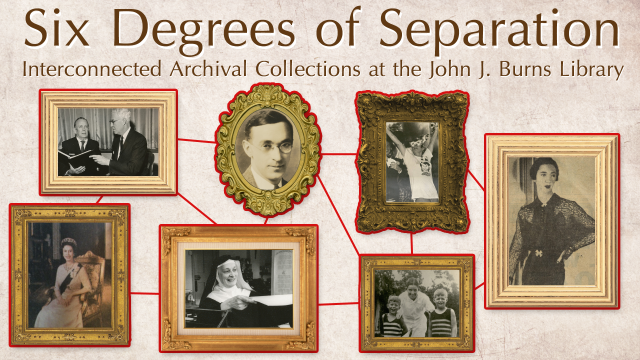 Six Degrees of Separation is on display in the Ford Tower until mid-May 2013.
