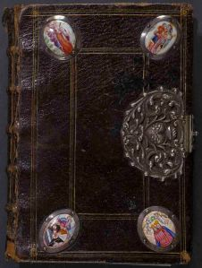 Front cover of the Connolly Book of Hours, MS.1986.097, John J. Burns Library, Boston College.