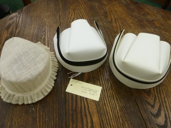 A selection of caps in the New England Deaconess Hospital School of Nursing records.
