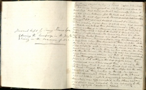 Diary of Thomas Henry Lyon, 1842.  Thomas Henry Lyon papers, MS.1986.118, John J. Burns Library, Boston College.