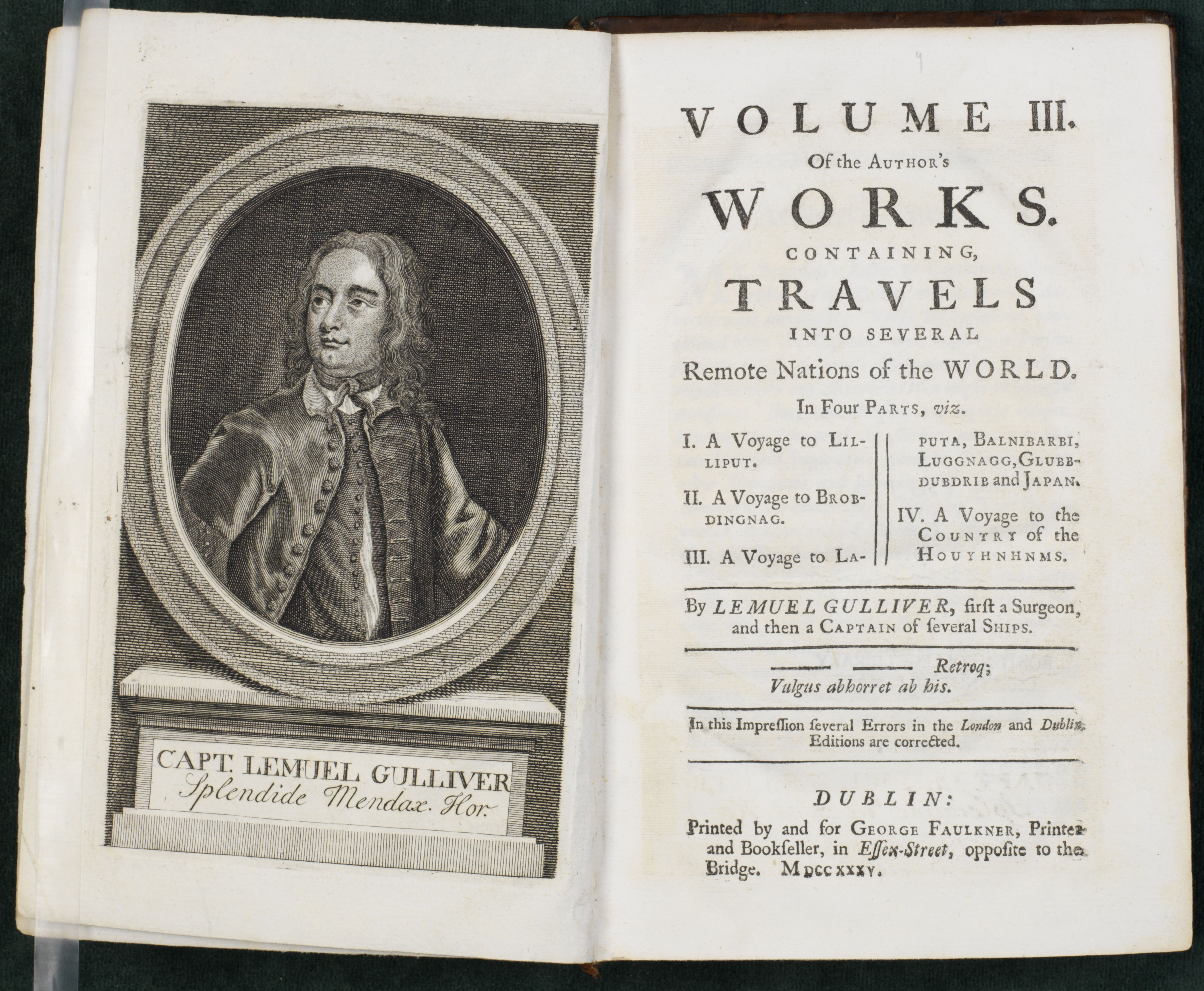 jonathan swift a collection of critical essays