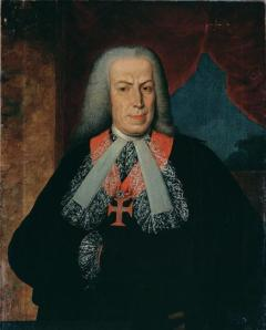 Portrait of the Marquis of Pombal, owned by the Museu Nacional de Soares dos Reis.