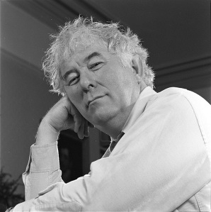 "Seamus Heaney,  bh002422, MS.2001.039, <a href=""http://www.bc.edu/sites/libraries/hanvey/index.html"">Bobbie Hanvey Photographic Archives</a>, John J. Burns Library, Boston College."