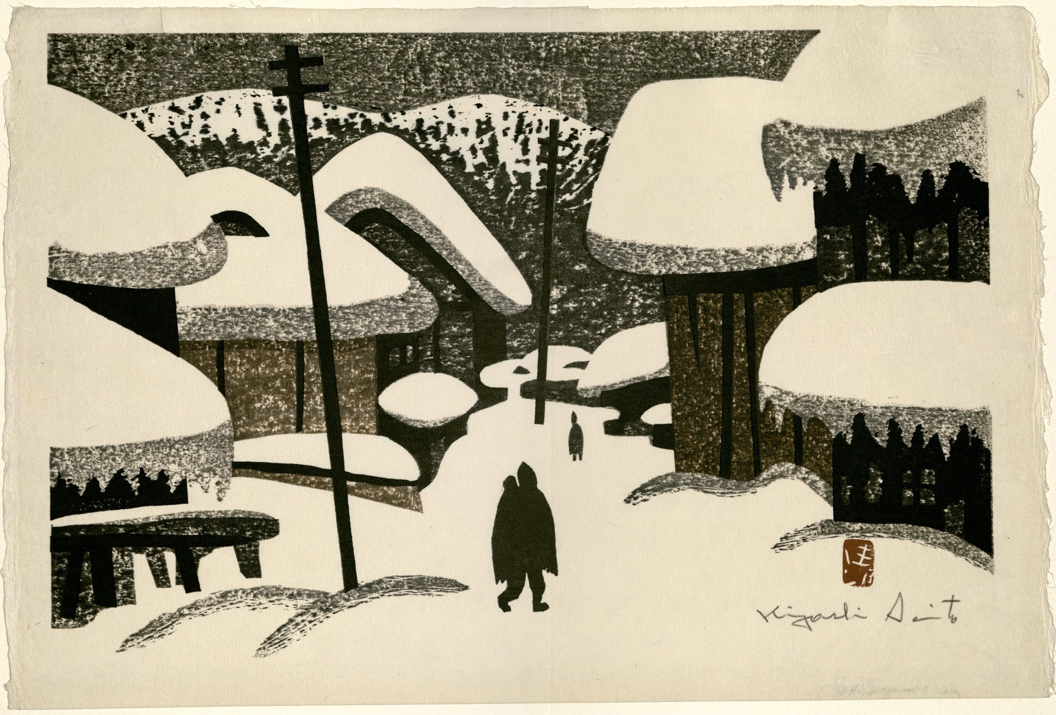 Modern Japanese Woodblock Prints | John J  Burns Library's Blog