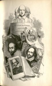 Title page of <i>William Shakspere: A Biography</i> by Charles Knight.