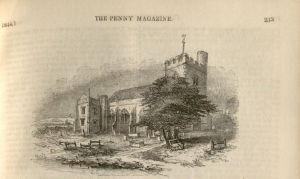 Plate from <i>The Penny Magazine</i>, 1844.