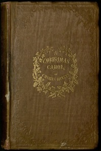 The cover of Dickens's <i> A Christmas Carol </i>.