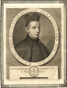 Lorenzo Ricci, 19th Superior General of the Society of Jesus