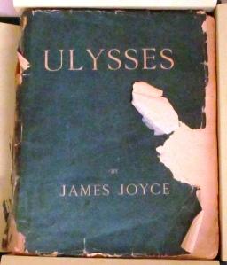 <i>Ulysses</i> by James Joyce, published by Egoist Press, 1922, PR 6019 .O9 U4 1922, John J. Burns Library, Boston  College.