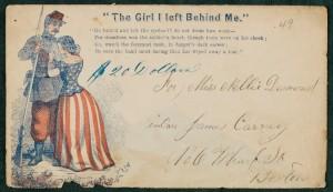 Envelope, Box 1, Folder 46, Michael H. Leary Letters, MS.1986.043, John J. Burns Library, Boston College.