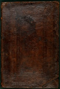 Binding of the Missarum liber primus.