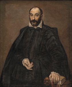 Andrea Palladio (1508-1580), as painted by El Greco in 1575. Palladio's writings represent the apogee of Renaissance architectural thought.