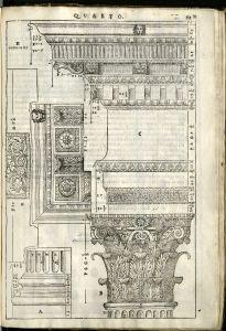 Column illustration from I quattro libri
