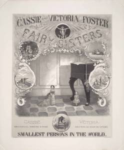 Fairy Sisters poster, American Antiquarian Society.