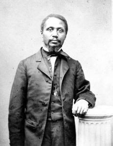 Robert Morris (1823 – 1882) was one of the first African-American attorneys in the United States. The Burns Library owns books from his personal library.