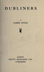 "Joyce struggled with the noted London-based publisher Grant Richards for almost a decade to publish <a href = ""http://bc-primo.hosted.exlibrisgroup.com/primo_library/libweb/action/dlSearch.do?institution=BCL&vid=bclib&onCampus=true&group=GUEST&loc=local,scope:(BCL)&query=any,contains,ALMA-BC21385130840001021""><em>Dubliners</em></a>."