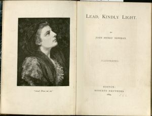 "Title Page from the 1883 Illustrated eddition of ""Lead, Kindly Light"""