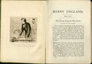 The Cover Page from the first  volume of Merry England (May 1883).