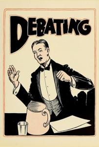 Student representation of the Fulton Debating Society in 1924 Sub Turri yearbook
