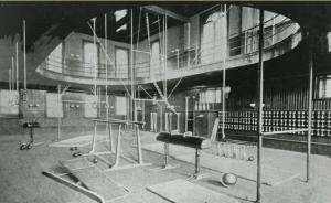 The school's gymnasium