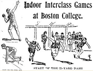 The Globe's depictions of the annual indoor interclass games
