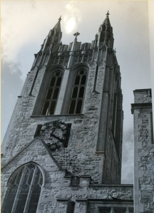 The bell tower and clock