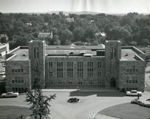 Fulton Hall, before its renovation