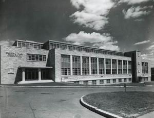 Cushing hall main entrance