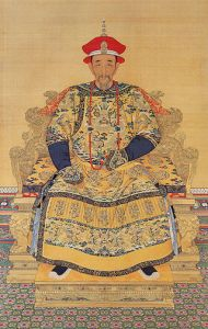 Portrait of the Kangxi Emperor in Court Dress, late Kangxi period