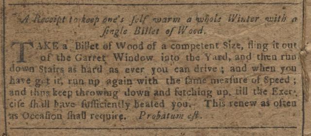 Wood Recipe