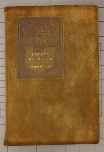 cover of Essays of Elia