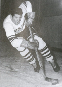Boston College forward Wimpy Burtnett from first BC team to play in the Beanpot